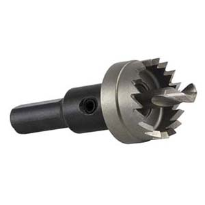Carbide-tipped hole saw