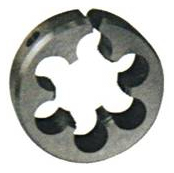 Adjustable round die